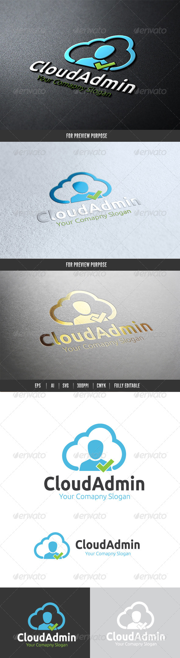 GraphicRiver Cloud Admin 6601769