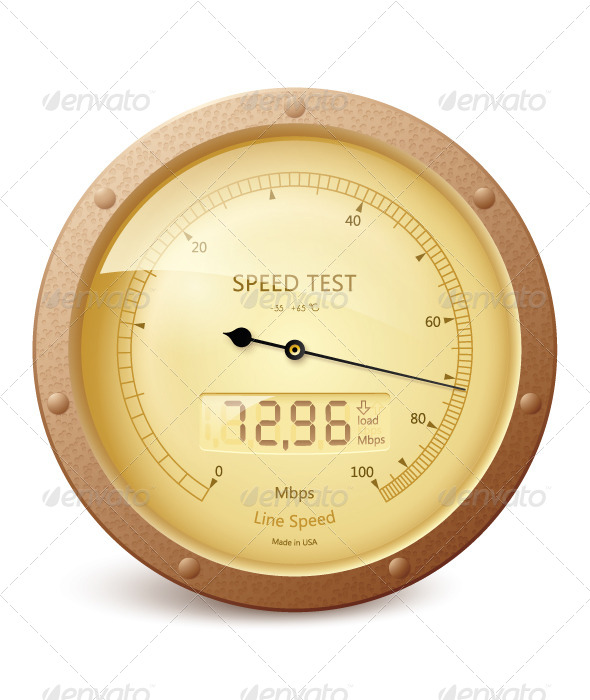 GraphicRiver Internet Speed Test 6601791