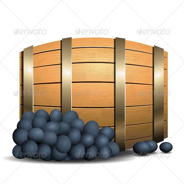 GraphicRiver Wine Barrel 6602022