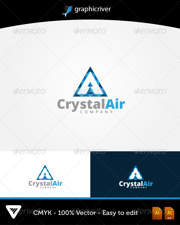 GraphicRiver CrystalAir Logo 6602058
