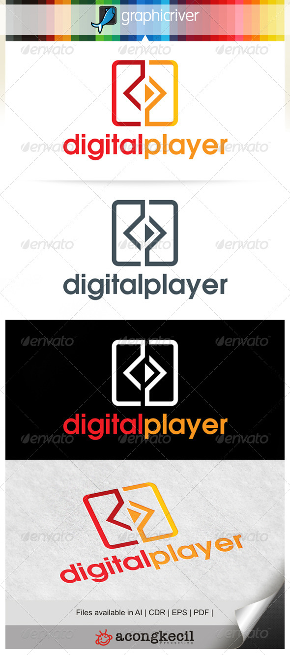 GraphicRiver Digital Player 6602202