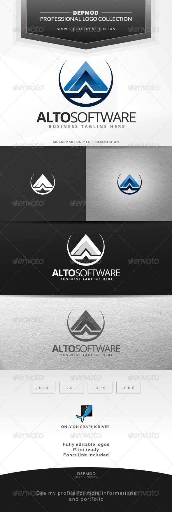 GraphicRiver Alto Software Logo 6602204