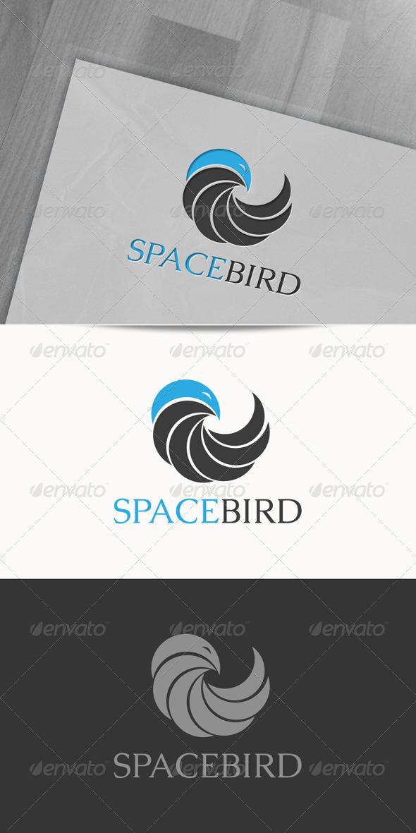 GraphicRiver Spacebird Logo 6600285