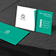 Light Green Business Card - GraphicRiver Item for Sale
