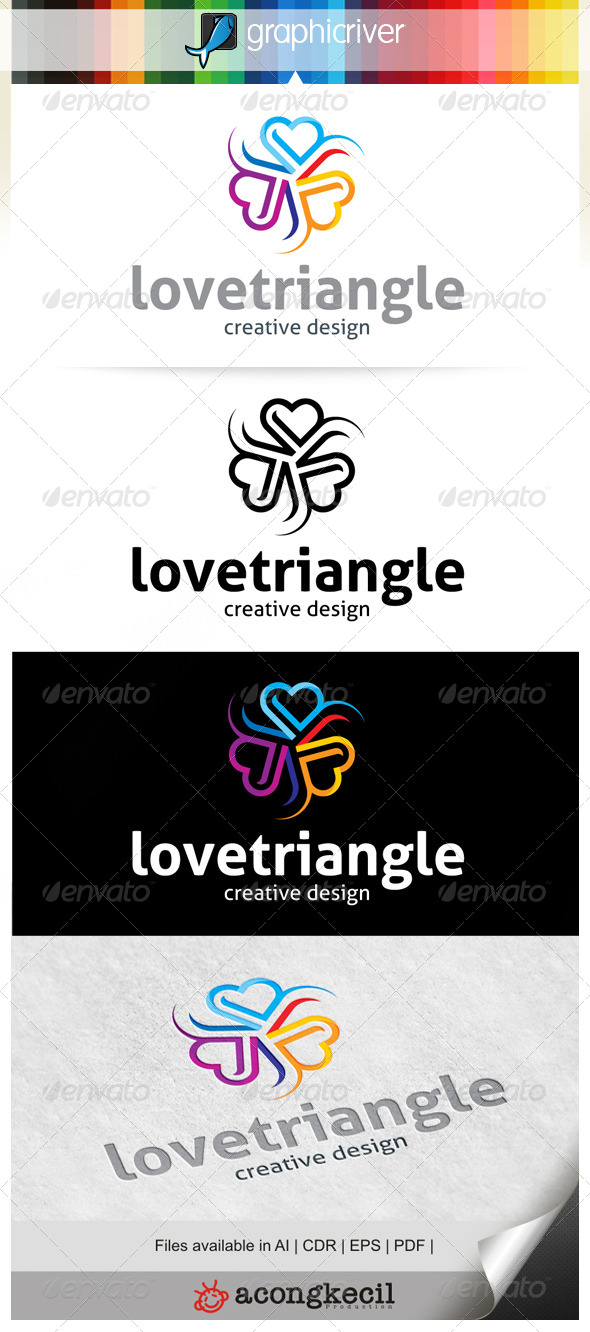 GraphicRiver Love Triangle 6602592