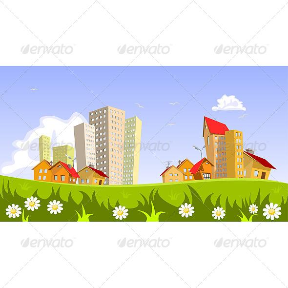 GraphicRiver Vector City 6602877