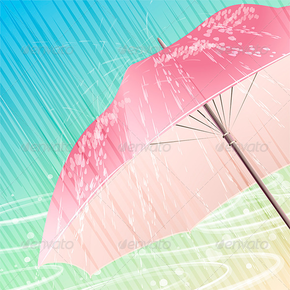 GraphicRiver The Spring Rain 6603238