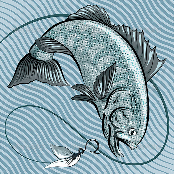 GraphicRiver Grey Fish 6603267