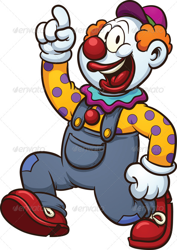 GraphicRiver Cartoon Clown 6603272