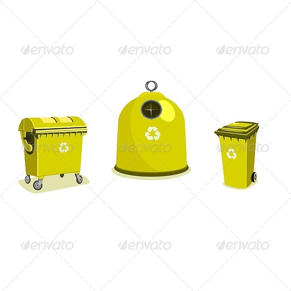GraphicRiver Recycle Bins 6603309