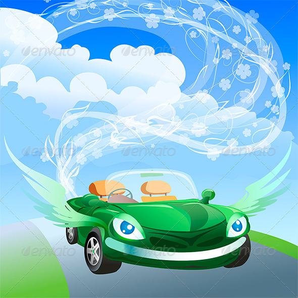 GraphicRiver Environmentally Friendly Car 6603311