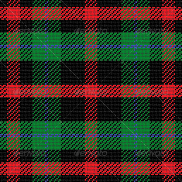 GraphicRiver Vector Seamless Pattern Scottish Tartan 6603485