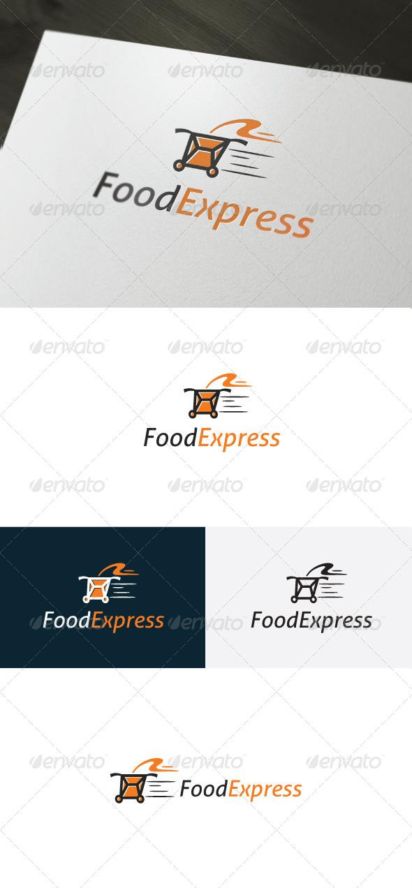 GraphicRiver Food Express Logo 6597355