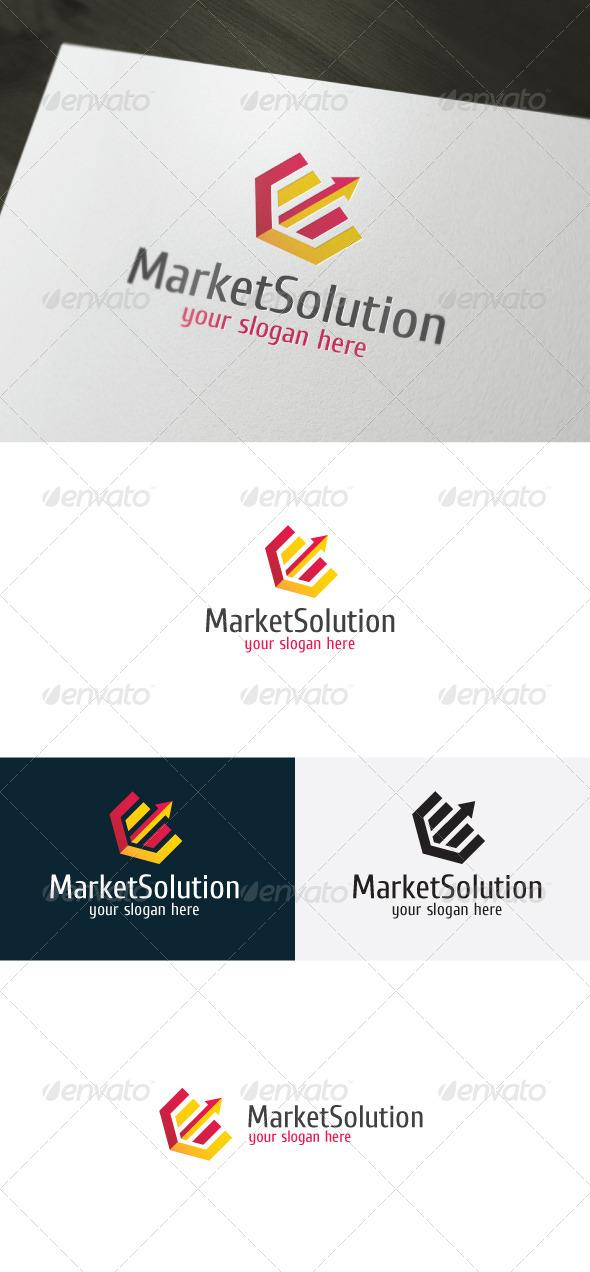 GraphicRiver Market Solution Logo 6597841