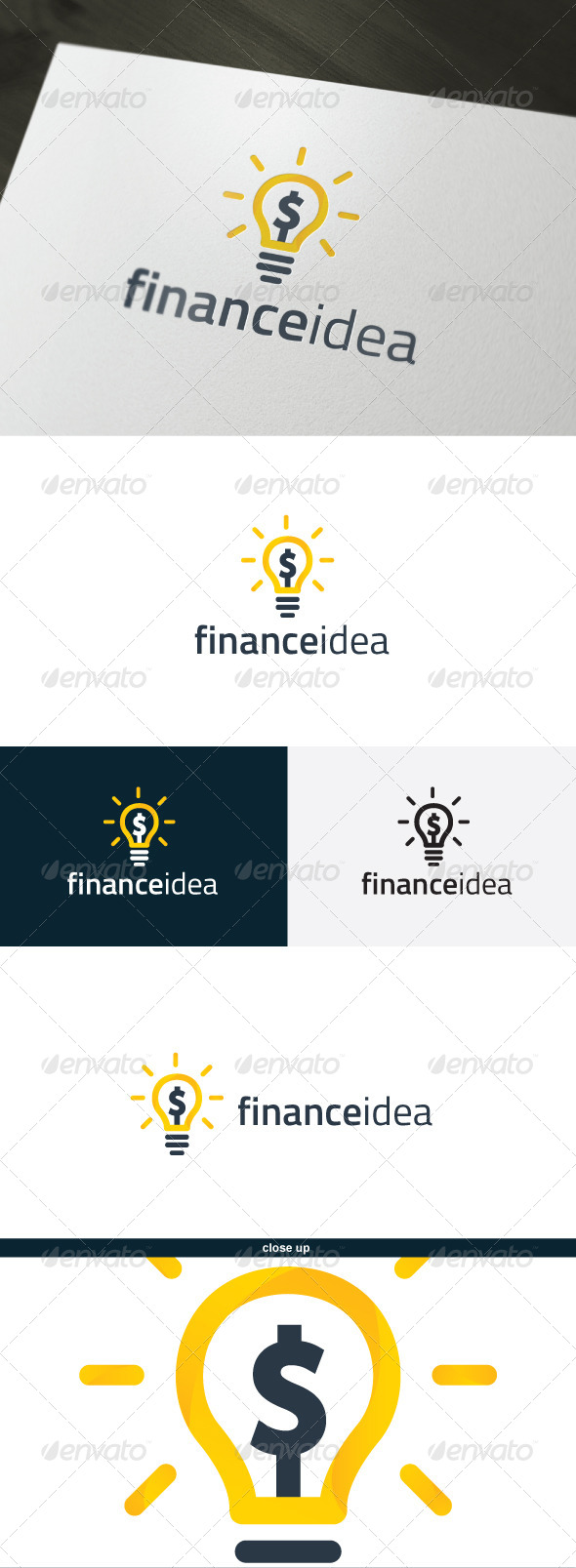 GraphicRiver Finance Idea Logo 6599573