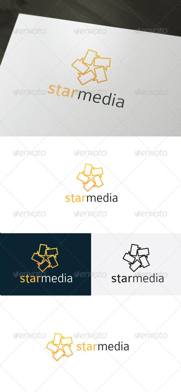 GraphicRiver Star Media Logo 6602049