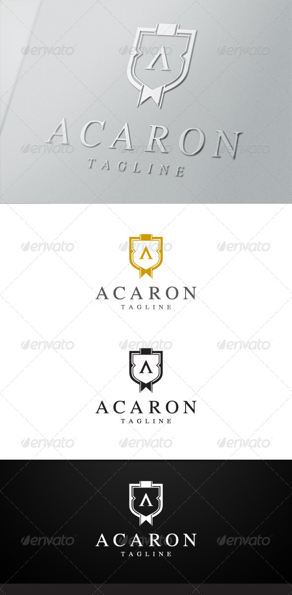 GraphicRiver Acaron Crest Logo 6603585