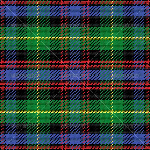 GraphicRiver Vector Seamless Pattern Scottish Tartan 6603646