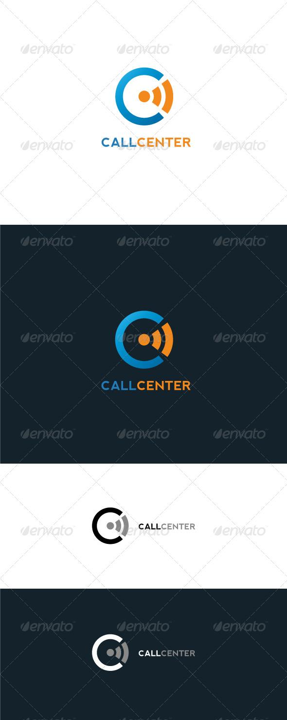 GraphicRiver Call Center Logo Template 6603702