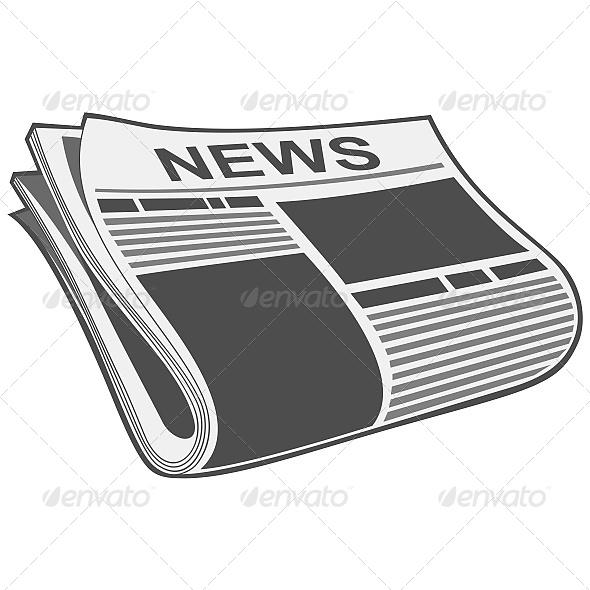 GraphicRiver Folded Newspaper Illustration 6603706