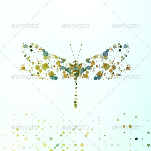 GraphicRiver Abstract Dragonfly 6603732