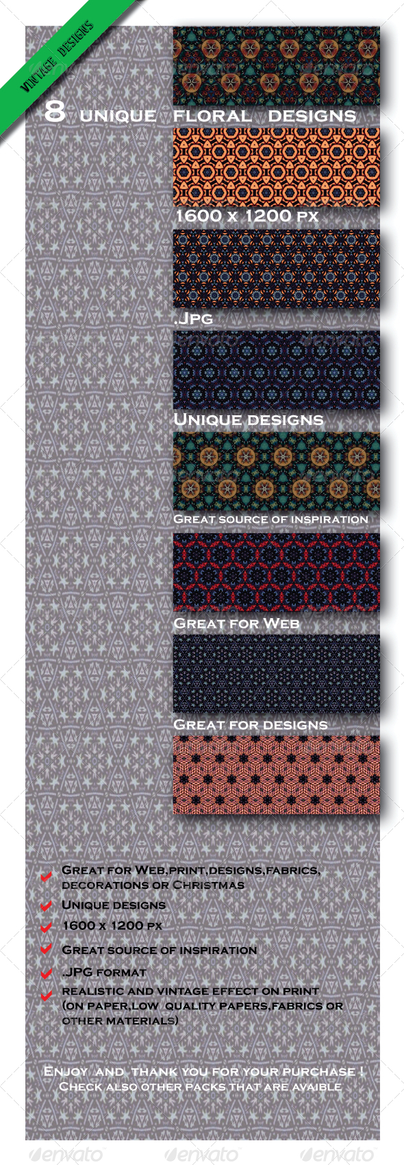 GraphicRiver 8 Elegante Nature Inspired Color Designs 6603817