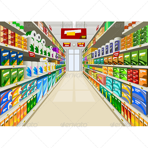 GraphicRiver Supermarket 6603906