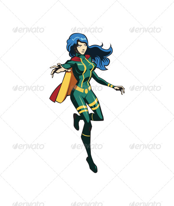 GraphicRiver Herogirl 6579234
