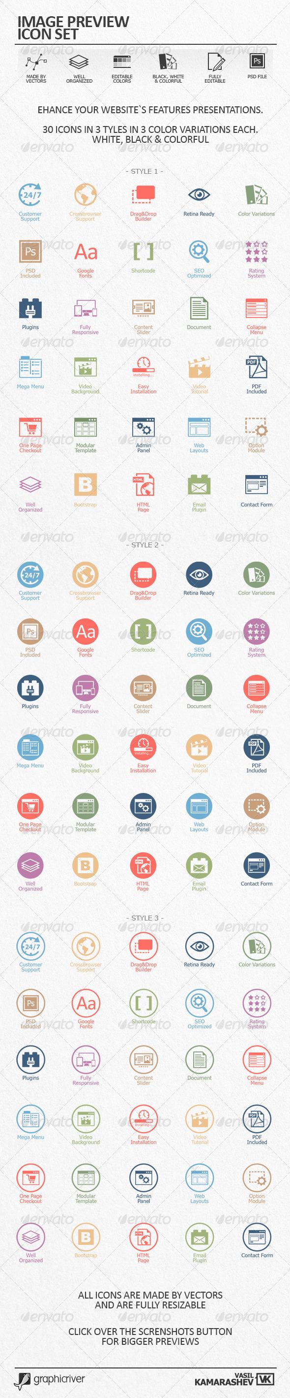 GraphicRiver Web Design Icon Set 6603965