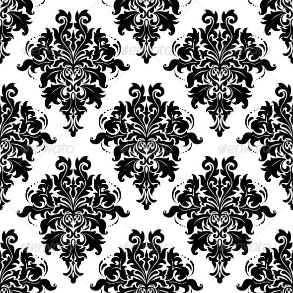 GraphicRiver Intricate Foliate Arabesque Seamless Pattern 6604275