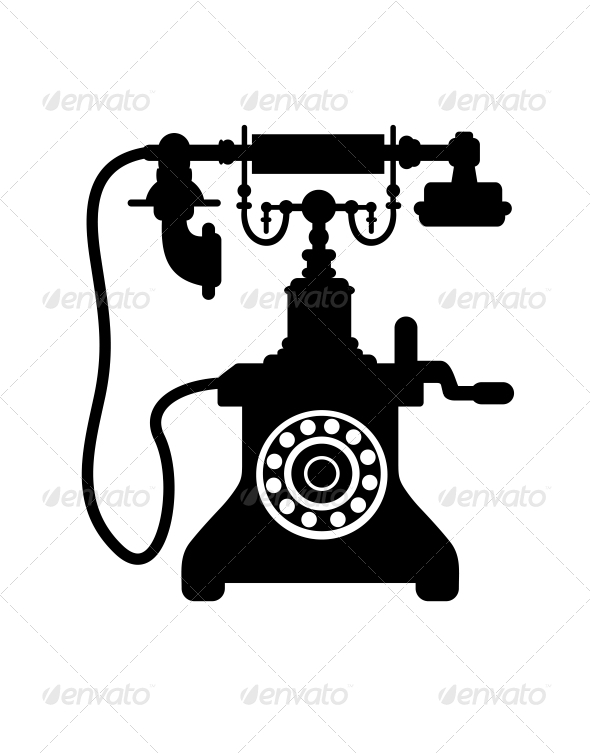 GraphicRiver Old Vintage Telephone 6604539