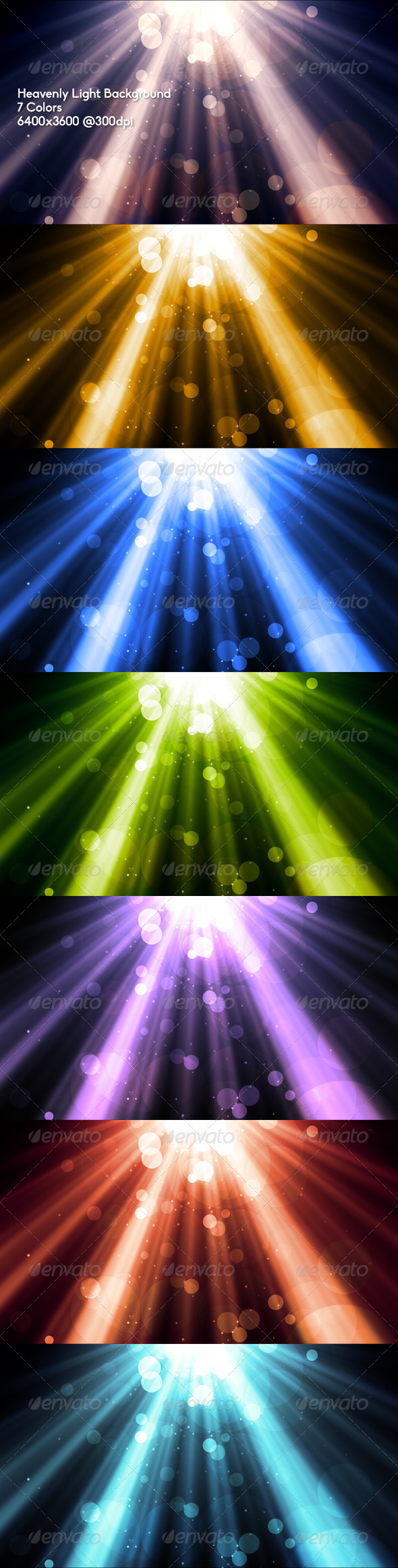 GraphicRiver Heavenly Light Background 6604568