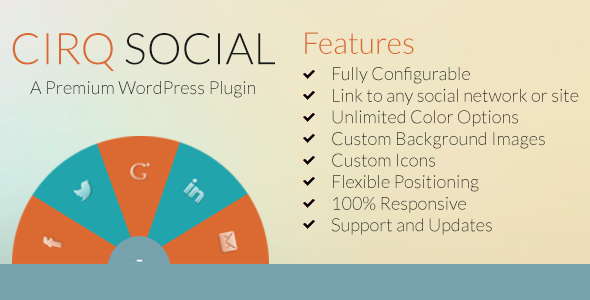 CodeCanyon Cirq Social and Feature Linking for WordPress 6343667