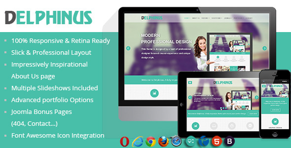 NOO Delphinus - Corporate/Portfolio Template