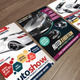 Auto Exhibition Flyer Bundle