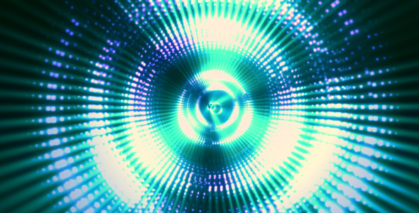 Abstract Circle Rays 02