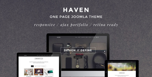 haven template preview
