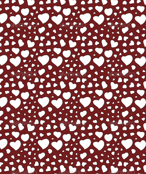 GraphicRiver Valentine s Day Background Seamless Pattern 6605311