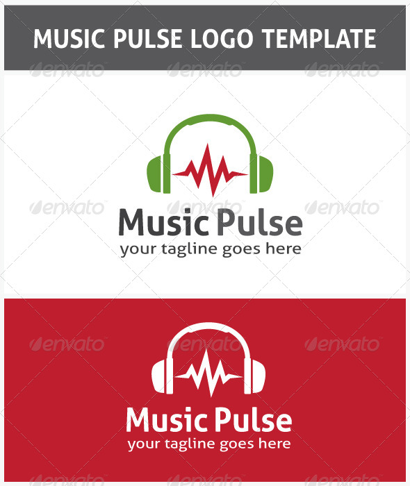 GraphicRiver Music Pulse Logo 6605517