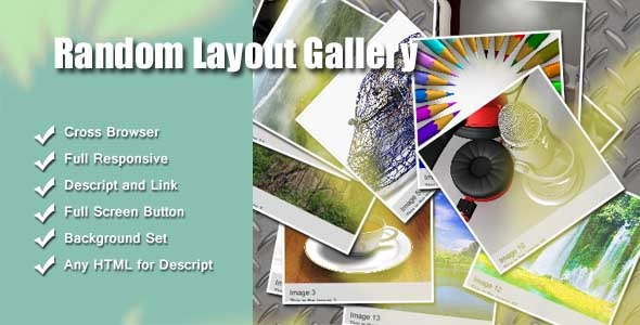 CodeCanyon Random Layout Gallery 6605841