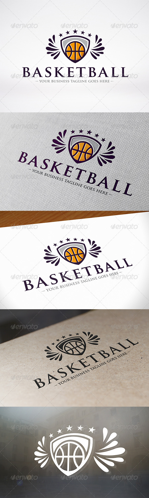 GraphicRiver Basketball Logo Template 6606285