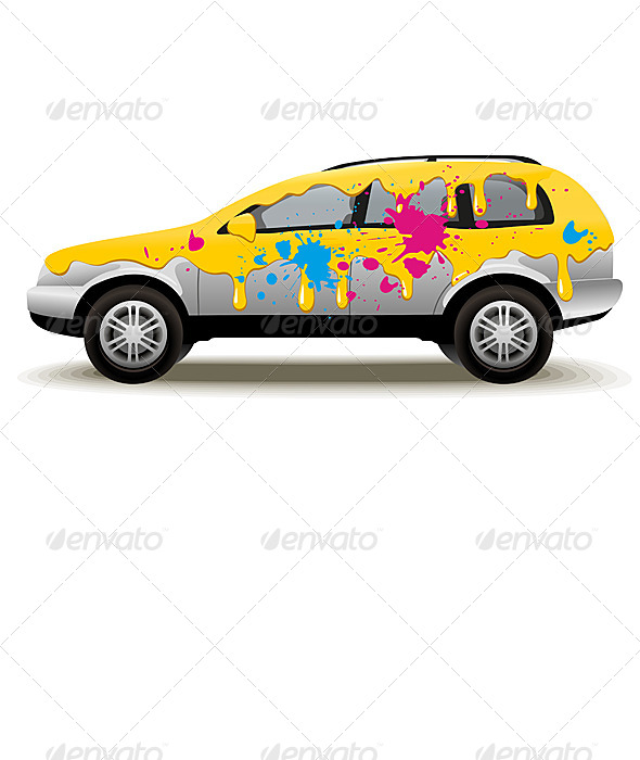 GraphicRiver Car Painting 6607514