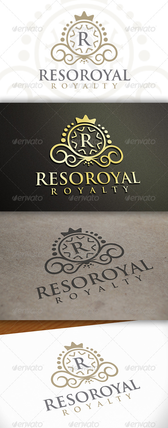 GraphicRiver Crest Logo Template 6607827