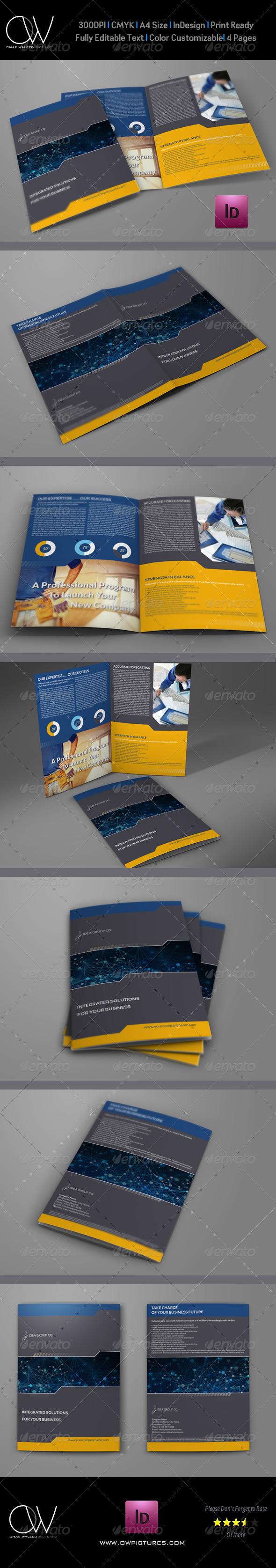 GraphicRiver Company Brochure Bi-Fold Template Vol.17 6608139