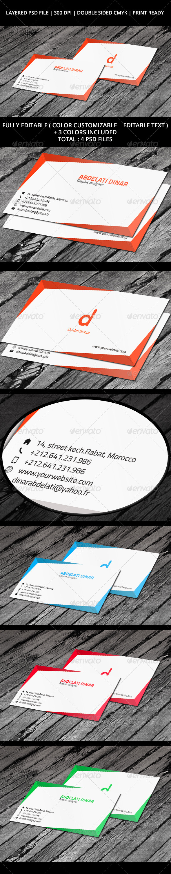 Business Card 05 - Business Cards Print Templates