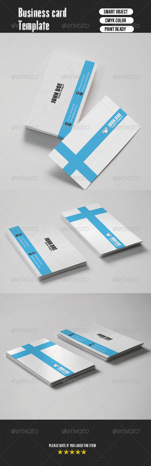 GraphicRiver Business Card 6608350