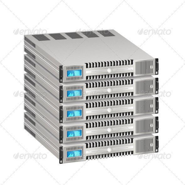 GraphicRiver Network Server 6608357
