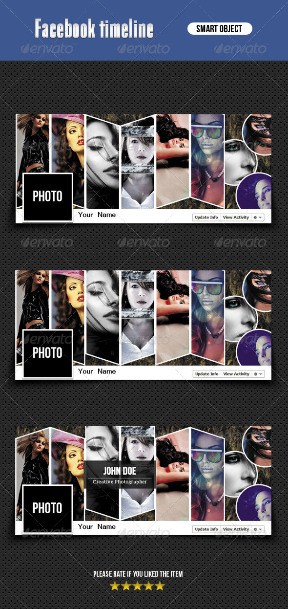 GraphicRiver Facebook Timeline 6608379