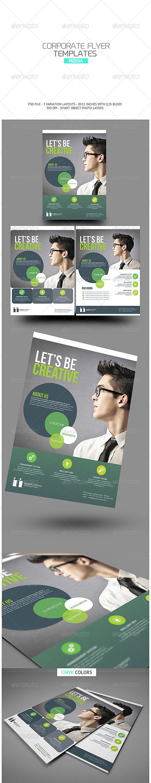 GraphicRiver Corporate Flyer 6608387