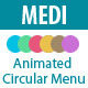 Medi - Animated Circular Menu
